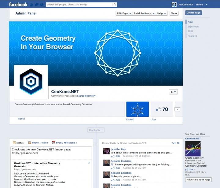 GeoKone.NET Facebook Page