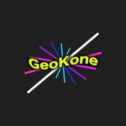 Early GeoKone Logo Design