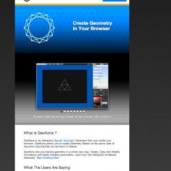 GeoKone.NET Lander Page Design