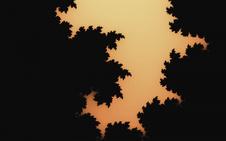 Inspiring Forest Of Fractals